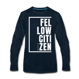 Fellow Citizen / Men Premium LS W - deep navy