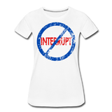 Don't Interrupt / Wom. Perfectly Basic BluRD - white
