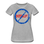 Don't Interrupt / Wom. Perfectly Basic BluRD - heather gray