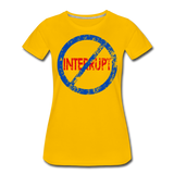 Don't Interrupt / Wom. Perfectly Basic BluRD - sun yellow