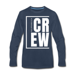 Crew / Men Premium LS W - navy