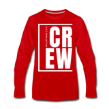 Crew / Men Premium LS W - red