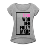 Wonderfully Made, i am / Wom. Tennis Tail PBlk - heather gray
