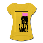Wonderfully Made, i am / Wom. Tennis Tail PBlk - mustard yellow