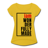 Wonderfully Made, i am / Wom. Tennis Tail RBlk - mustard yellow