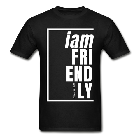 Friendly / Men Tagless W - black