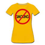 No Smoking / Wom. Perfectly Basic RBlkC - sun yellow