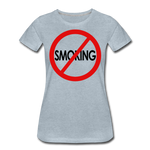 No Smoking / Wom. Perfectly Basic RBlkC - heather ice blue