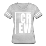 Crew / Wom. Vintage W - heather gray/white