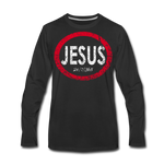 Jesus 24/7/365 - Men Premium LS RWD - black