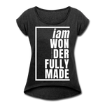Wonderfully Made, i am / Wom. Tennis Tail W - heather black