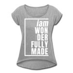 Wonderfully Made, i am / Wom. Tennis Tail W - heather gray