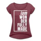 Wonderfully Made, i am / Wom. Tennis Tail W - heather burgundy