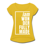Wonderfully Made, i am / Wom. Tennis Tail W - mustard yellow