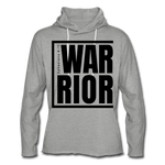 Warrior / Unisex Rough-Cut Lightweight Hoodie Blk - heather gray