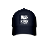 Warrior / Baseball Cap W Distressed - navy