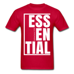 Essential / Men Tagless iamHIS / White - red