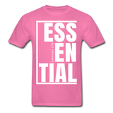 Essential / Men Tagless iamHIS / White - hot pink