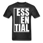 Essential / Men Tagless iamHIS / White - charcoal gray