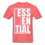 Essential / Men Tagless iamHIS / White - coral