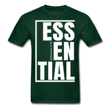 Essential / Men Tagless iamHIS / White - forest green