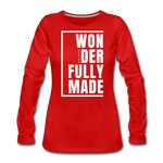 Wonderfully Made / Wom. Premium LSW - red