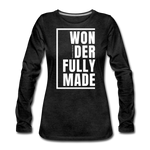 Wonderfully Made / Wom. Premium LSW - charcoal gray