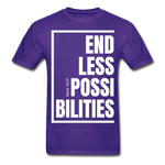 Endless Possibilities / Men Tagless W - purple
