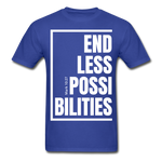Endless Possibilities / Men Tagless W - royal blue