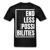 Endless Possibilities / Men Tagless W - black
