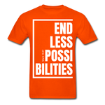 Endless Possibilities / Men Tagless W - orange
