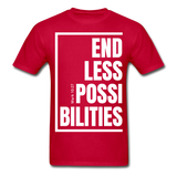 Endless Possibilities / Men Tagless W - red