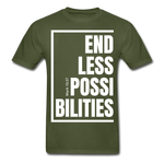 Endless Possibilities / Men Tagless W - military green