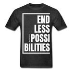Endless Possibilities / Men Tagless W - charcoal gray
