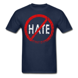 No Hate / Men Tagless RW Distressed - navy