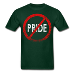 No Pride / Men Tagless RW Distressed - forest green