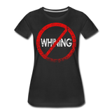 No Whining / Wom. Perfectly Basic RW Distressed - black
