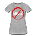No Whining / Wom. Perfectly Basic RW Distressed - heather gray