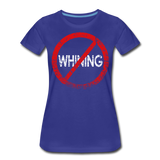 No Whining / Wom. Perfectly Basic RW Distressed - royal blue