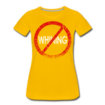 No Whining / Wom. Perfectly Basic RW Distressed - sun yellow
