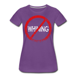 No Whining / Wom. Perfectly Basic RW Distressed - purple