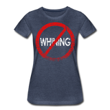 No Whining / Wom. Perfectly Basic RW Distressed - heather blue