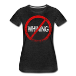 No Whining / Wom. Perfectly Basic RW Distressed - charcoal gray