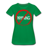 No Whining / Wom. Perfectly Basic RW Distressed - kelly green