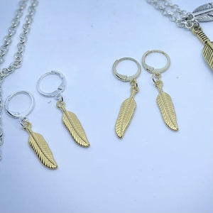 Tangana life FEATHER LIGHT earrings