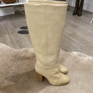 YAYA Leather Knee Boots
