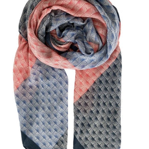 New In Black Colour Pilou Scarf