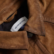 Load image into Gallery viewer, Denim Hunter Leather Shirt