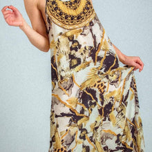 Load image into Gallery viewer, INOA Cairo Frill Strap Maxi Dress