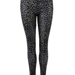 Black Colour Annie Mesh Leggings